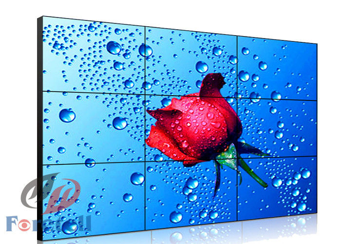 FHD Indoor Lcd Digital Signage Video Wall , Samsung Video Wall Displays RS232 Control Signal