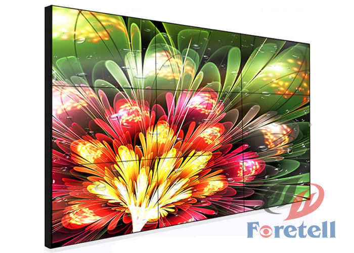 3.5mm Small Bezel Monitor LCD Video Wall System For Control Rooms 700cd / M²