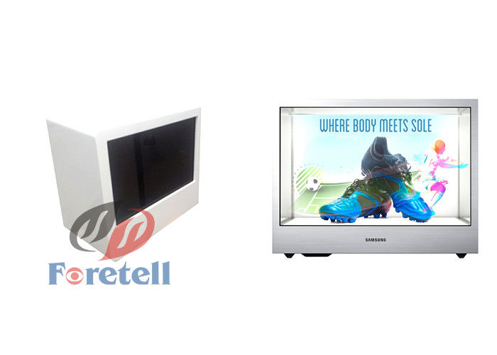 See Through Lcd Monitor Transparent LCD Display Showcase 1920 X 1080 Resolution